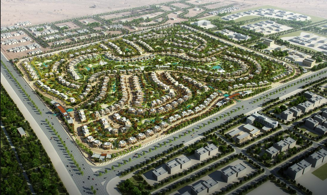 موقع كمبوند ذا استيتس الشيخ زايد Compound The Estates Elshekh Zayed