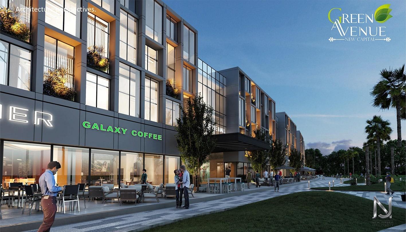 تفاصيل مول جرين افينيو العاصمة الادارية Green Avenue Mall