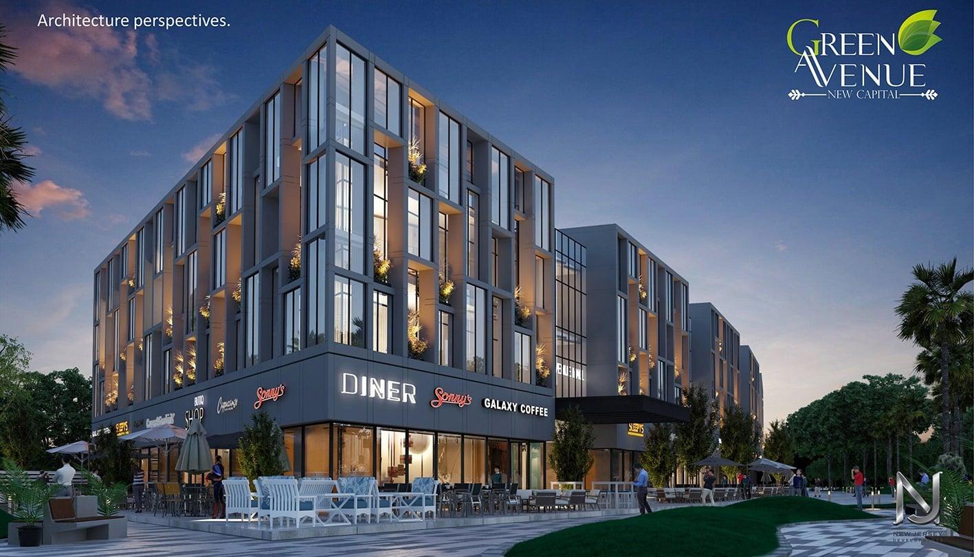 مشاريع سكنية بالقرب من مول جرين افينيو Green Avenue