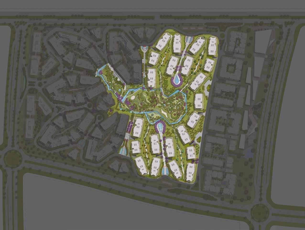 تصميم كمبوند ذا فيوز القاهرة الجديدة