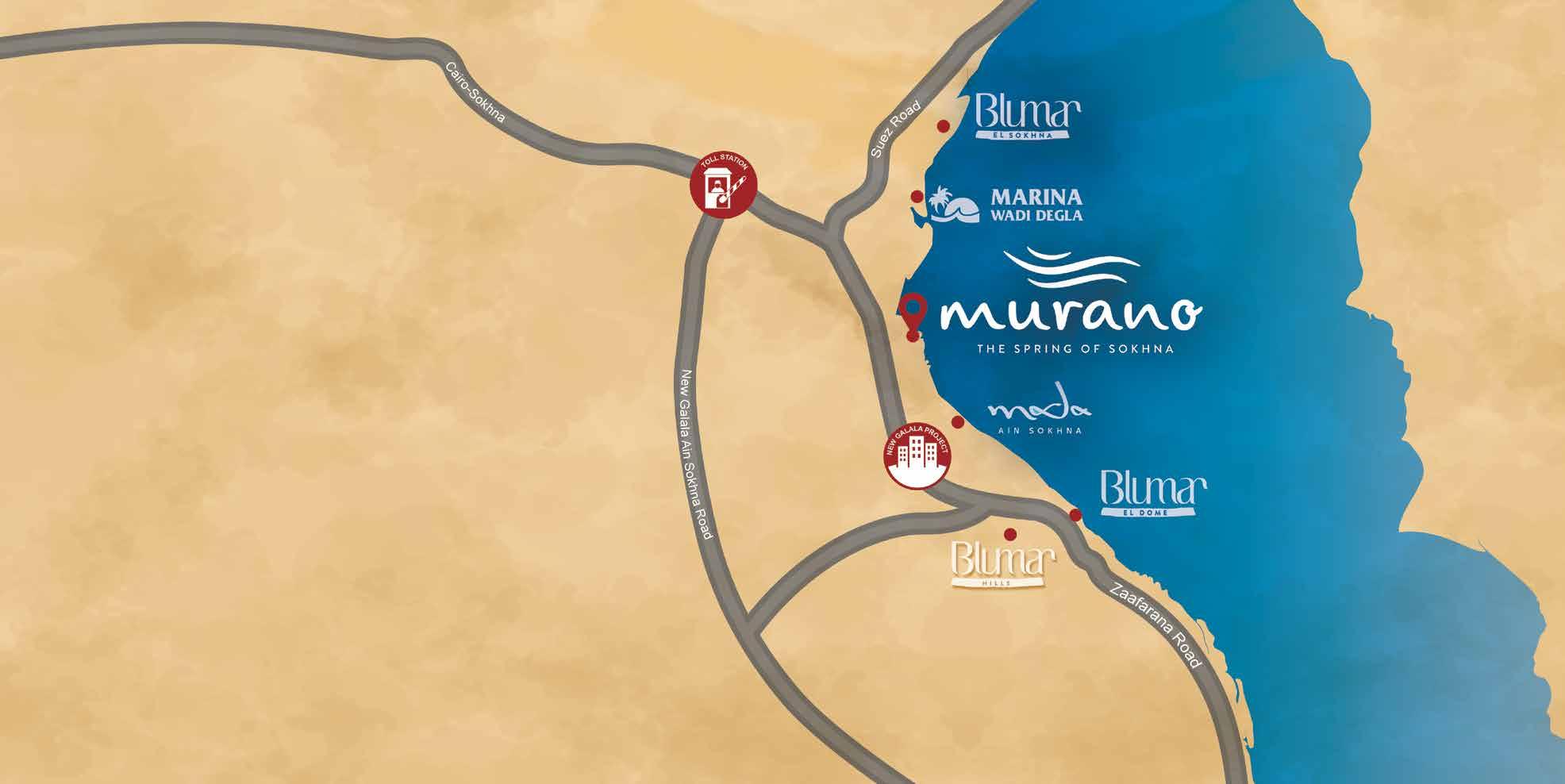 موقع murano wadi degla..._يوفن UVISNE