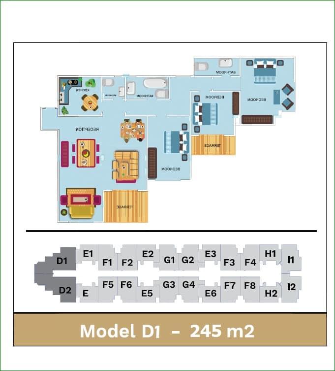 مخطط تفصيلى لمشروع معادى جيت Maadi Gate