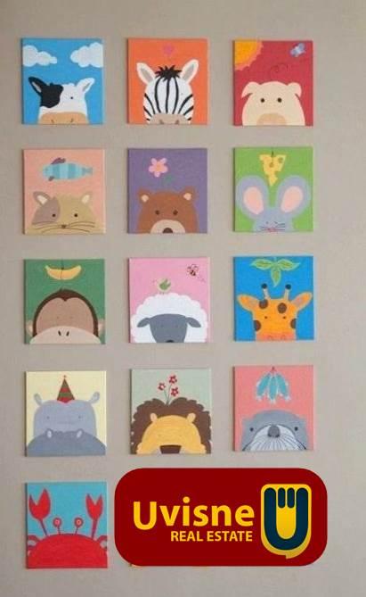 دهانات ورسومات غرف الأطفال 2020