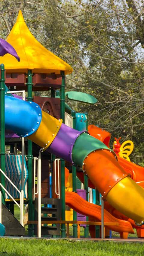 منطقة اللعاب للاطفال