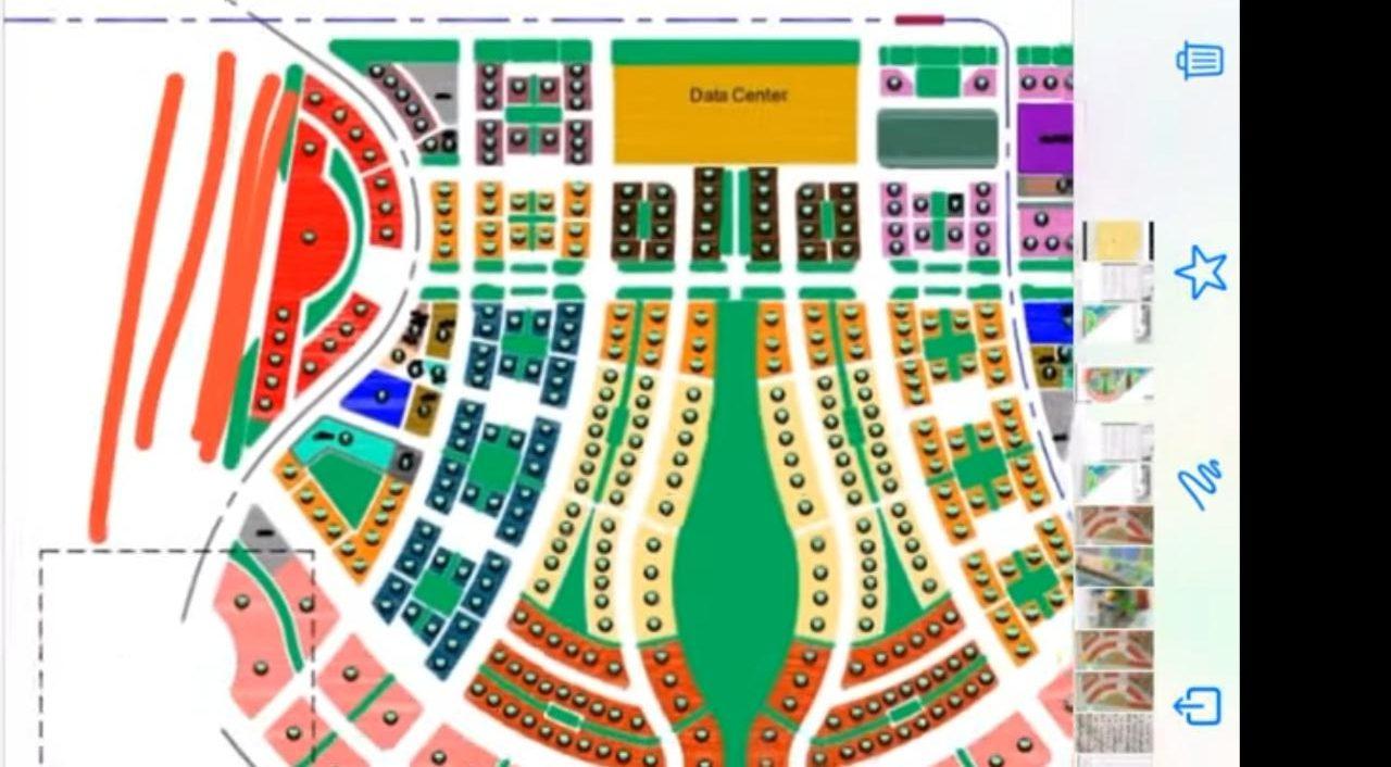 MU19 داون تاون العاصمة الادارية