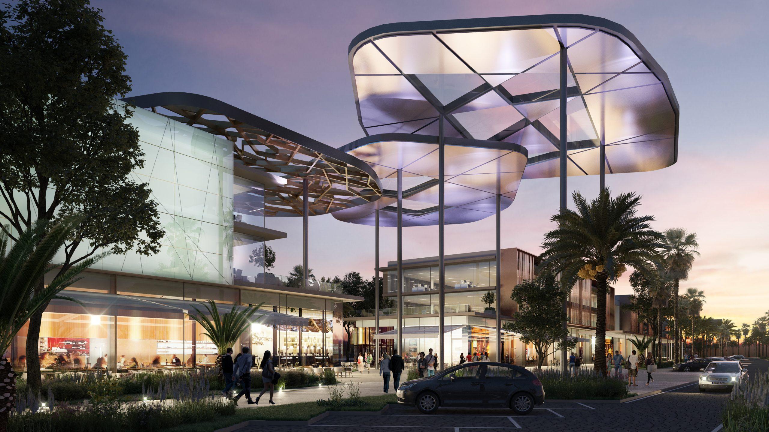 مشروع Entrada Avenue