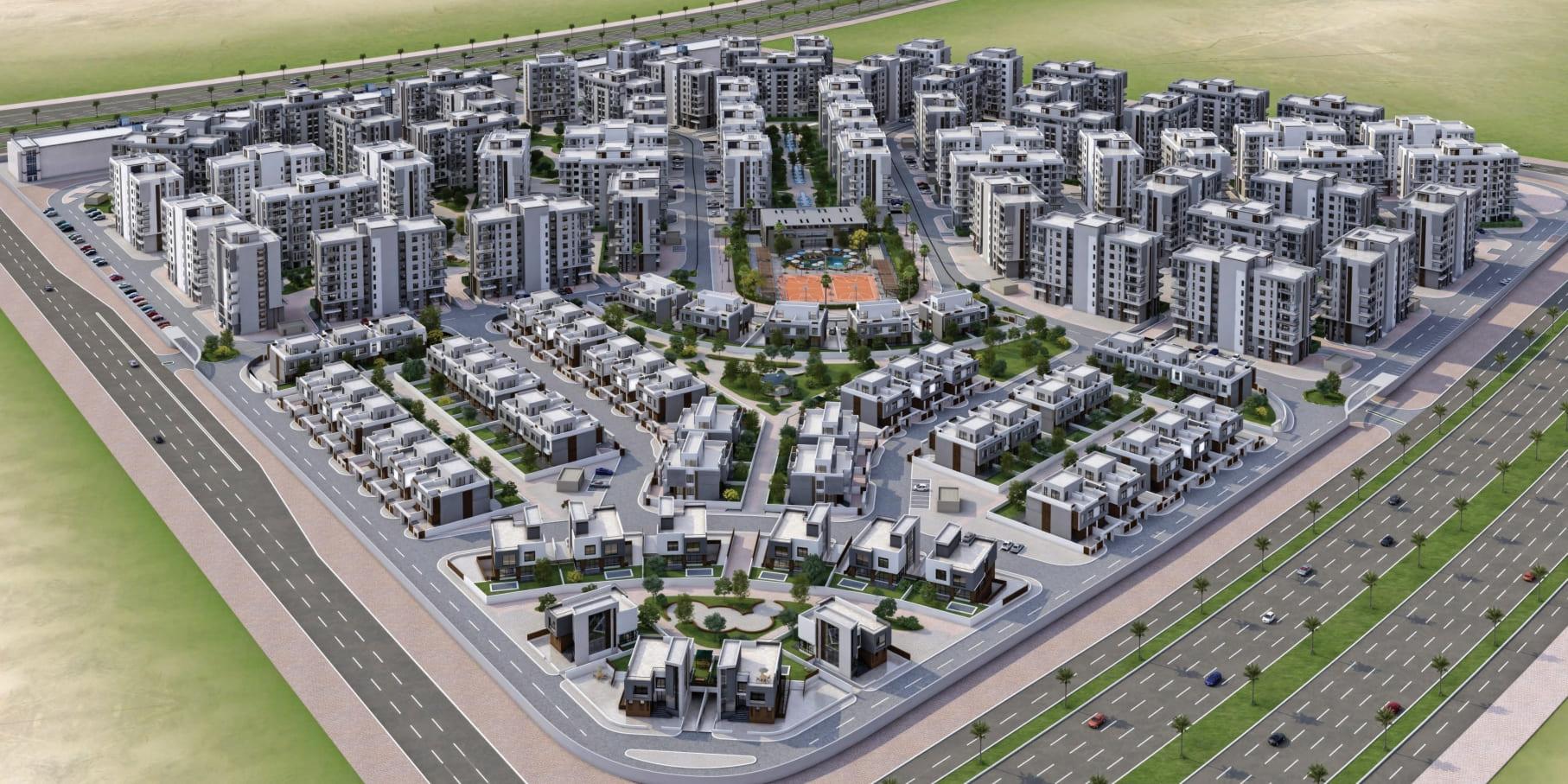 مخطط مدينة المنصورة الجديدة