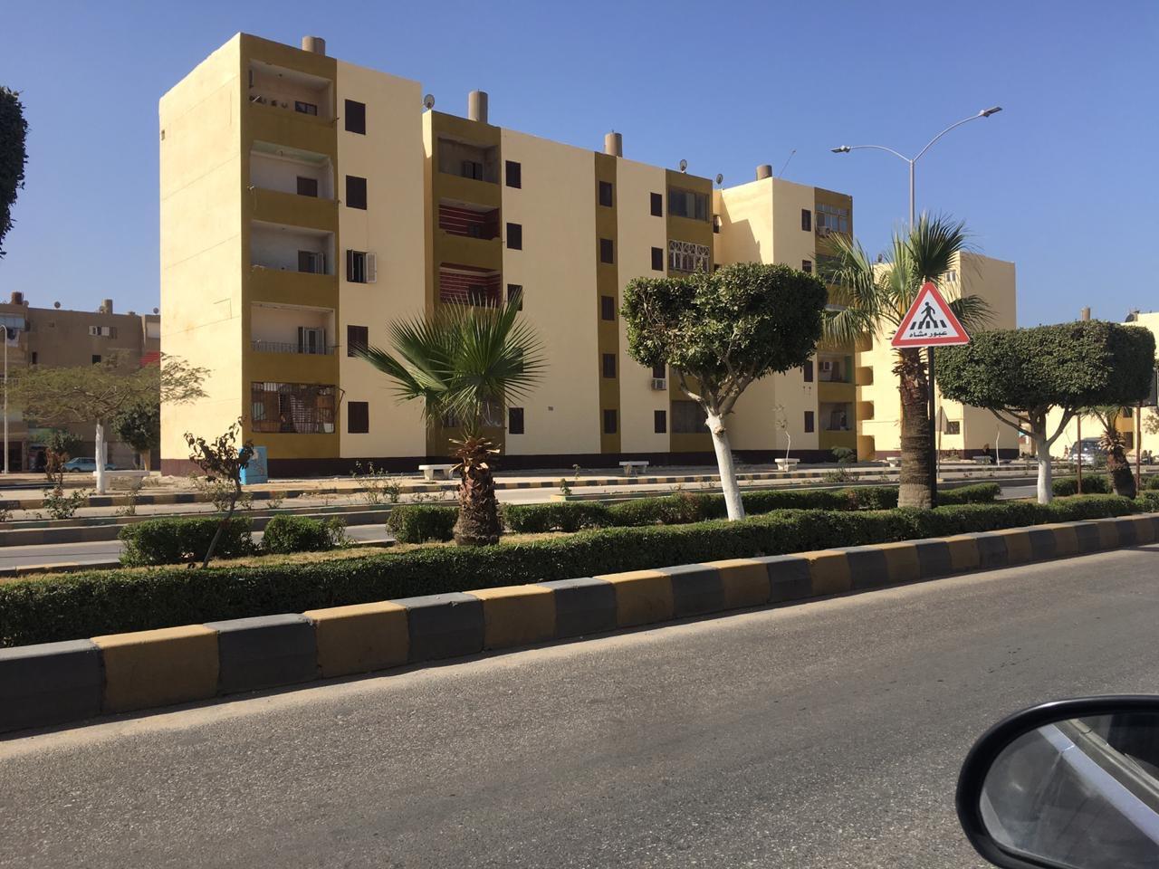 احد شوارع مدينة بني سويف الجديدة