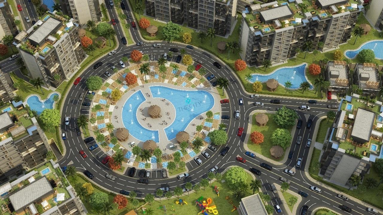 مخطط العاصمة الادارية - فلل في العاصمة الادارية الجديدة