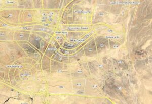 موقع كمبوند لافيردي على الخريطة