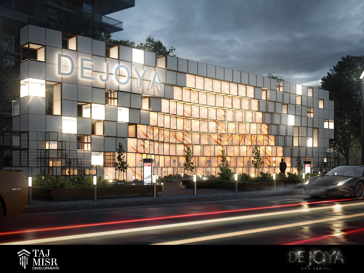 روعة التصميم في كمبوند دي جويا New Capital