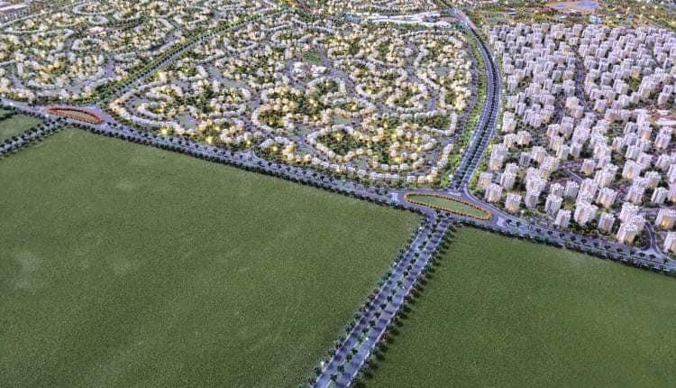 مشروع حدائق العاصمة نور يوفن